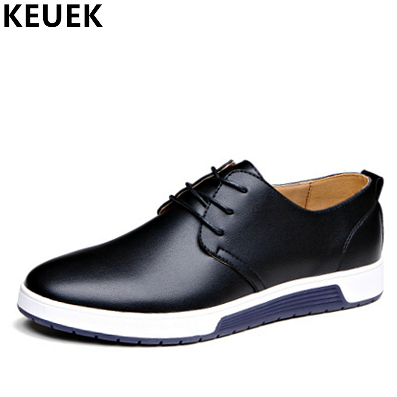 Big size 37-48 Men shoes Genuine leather Casual shoes Fashion Male Flats Spring Summer Breathable Loafers youth sneakers 3A spring autumn casual men s shoes fashion breathable white shoes men flat youth trendy sneakers