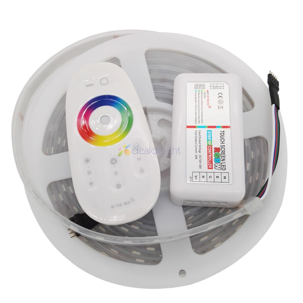 2.4g Rgbw Remote Controller Selling Well All Over The World 5m 5050 Rgbw Led Strip Rgb Cool/warm White Ip67 Silicone Tube Waterproof Dc12v 60led/m 10mm Pcb