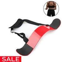 Brazo de levantamiento de pesas Blaster ajustable de aluminio para culturismo bíceps Triceps Curl Bomber Arm Muscle Lifting entrenamiento gimnasio equipo