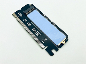 Image 4 - وصل حديثًا وحدة تحويل بطاقات توسيع Led من سبائك الألومنيوم واجهة مهايئ الكمبيوتر M.2 NVMe SSD NGFF إلى PCIE 3.0 X16