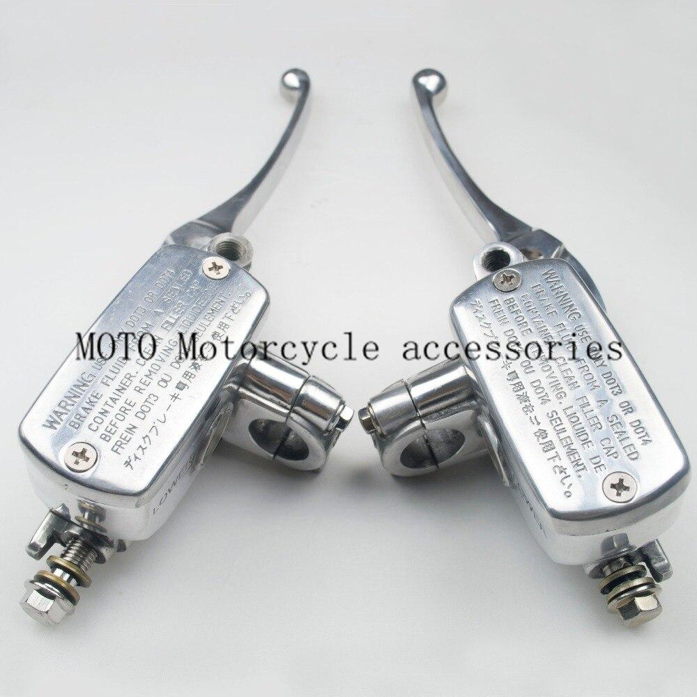 Мотоцикл Регулируемый тормоз сцепление насос для Honda CBR250 CBR400 cb400 и CB750 CB1000 изменен полировка сцепления тормоза