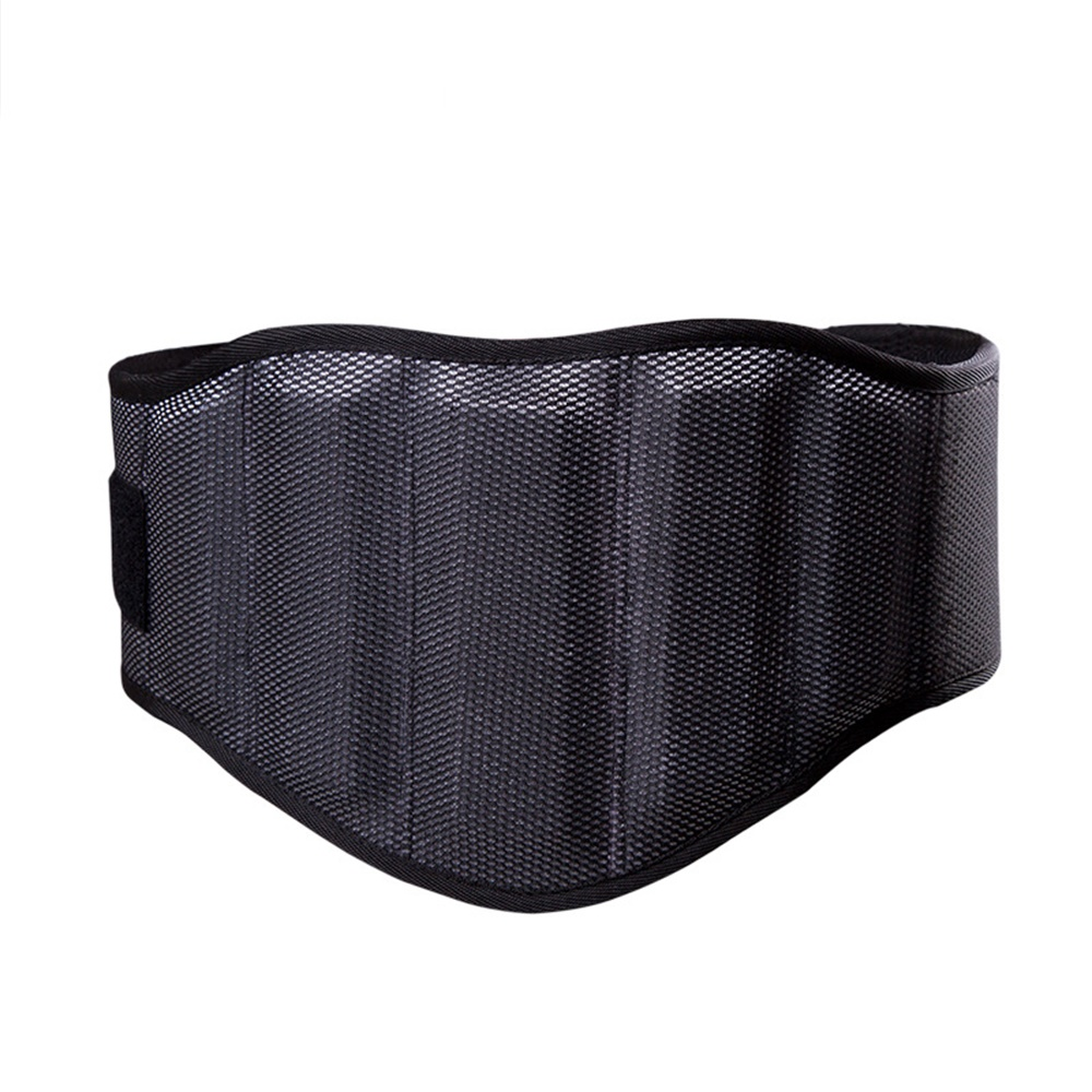Sponge Durable Nylon Tyngdlyftande Squat Belt Skydda Lumbar Back - Fitness och bodybuilding