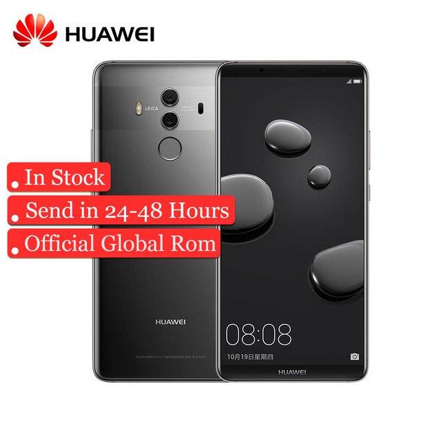 "Original HuaWei Mate 10 Pro 4G LTE Kirin 970 Android 8.0 Mobile Phone 6.0"" 2160*1080 Full Screen 20.0MP NFC Fingerprint"