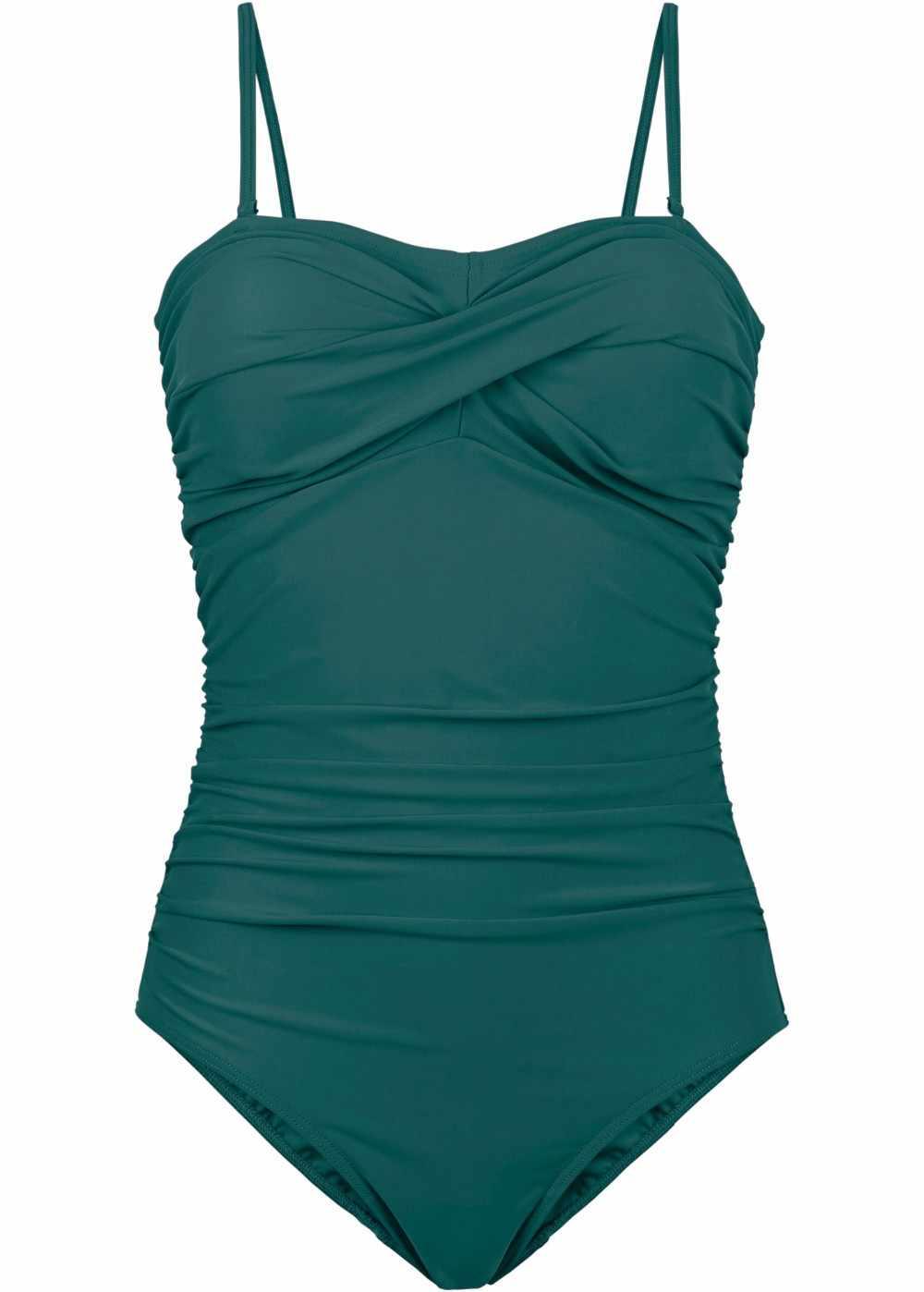 Jeden kawałek czarny strój kąpielowy body Plus rozmiar stroje kąpielowe kobiety Strappy wzburzyć Sexy pływać kąpiący Biquini garnitur maillot De Bain
