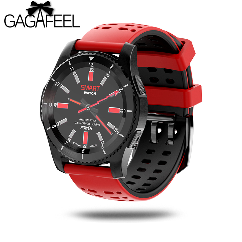 Gagafeel GS8 Smart Watch Waterproof Wristwatch SIM Card Message Remind Heart Rate Monitor Bluetooth Pedometer Smartwatches gs8 smart watch sim card call sms remind blood pressure heart rate tracker bluetooth 4 0 pedometer smartwatches for android ios