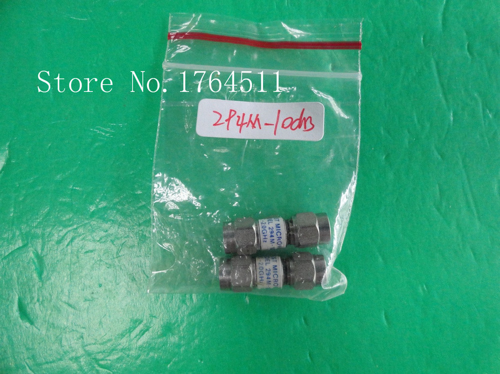 [BELLA] MIDWEST 294M-10dB DC-2GHz Att:10dB P:2W SMA Attenuator  --5PCS/LOT