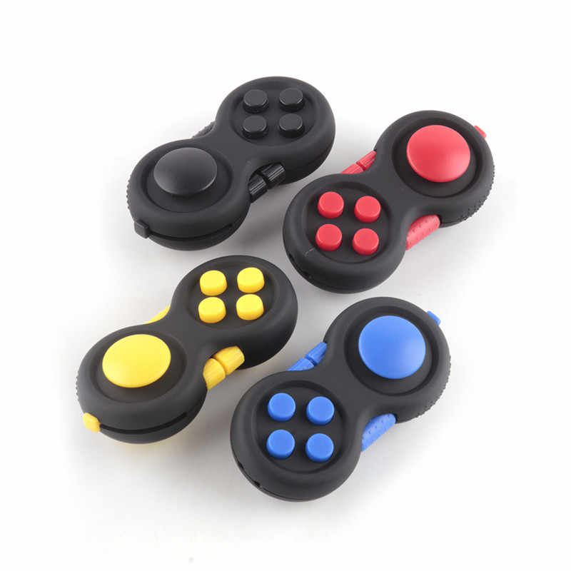 New Magic Fidget Pad Cube Gamepad Children Desk Toys Game Controllers Adults Stress Relief ADHD Relieves Squeeze Kids Children