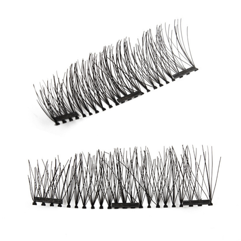 3 Magnetic Magnetic Eyelashes Maquiagem False Lashes Long Magnetic Lashes False Eyelashes High Quality Makeup easy to wear