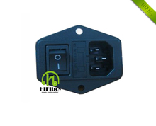 Power outlet with mounting hole switch insurers AC outlet computer socket UL CE CCC certification