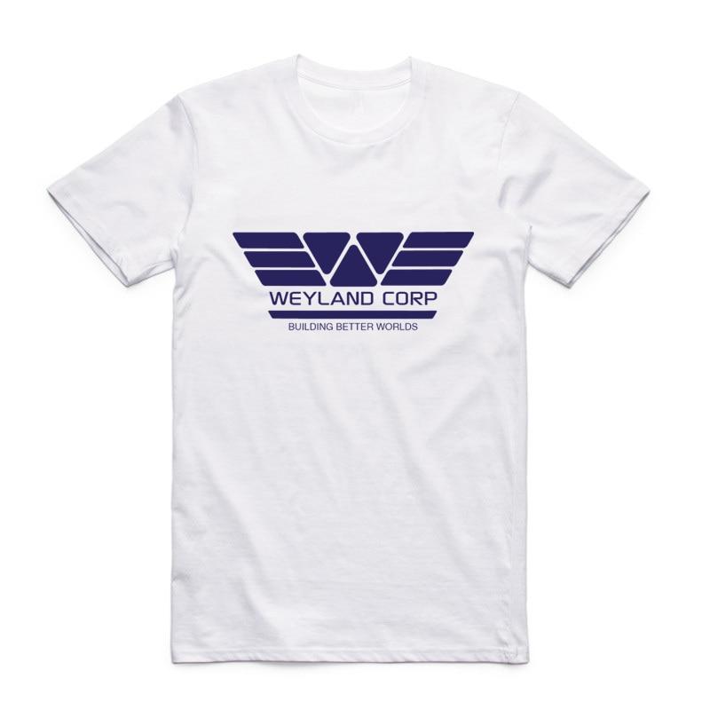 Asian Size Men Women Printing USCSS Nostromo T-shirt Summer Casual O-Neck Short Sleeves Alien Weyland Yutani Tshirt HCP4110