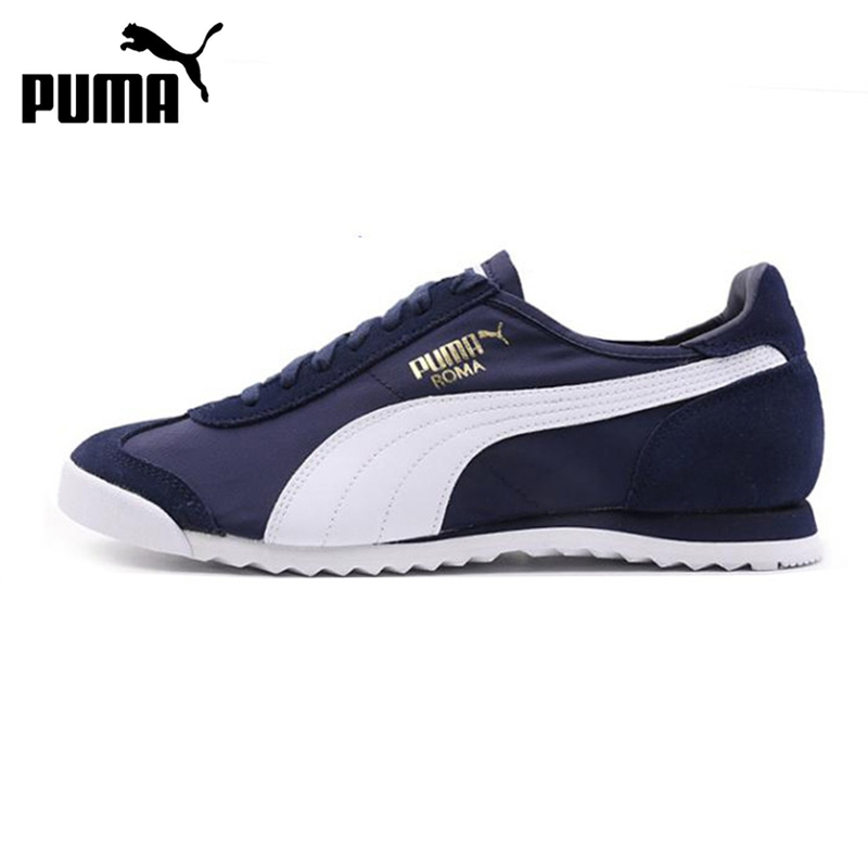 Original New Arrival 2017 PUMA Roma OG Nylon Mens Skateboarding Shoes Sneakers