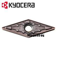 Kyocera VNMG160404-MS PR1125 VNMG160408-MS PR1125 VNMG 160404 160408 карбидная вставка для токарного станка резак инструменты, токарный инструмент держатель для ЧПУ