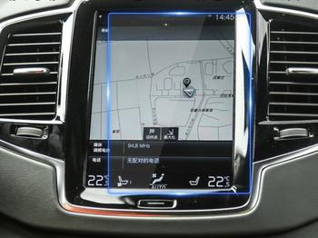 180*135mm samochód szkło hartowane folia ochronna na ekran DVD GPS multimedialny na wyświetlacz LCD dla Volvo XC90 S90 V90CC 2016 2017 XC60 2018