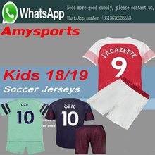 c1cc775ad AAA+Top quality 2019 Arsenal soccer jersey 18-19 kids suit AUBAMEYANG  MKHITARYAN OZIL · 15 Colors Available