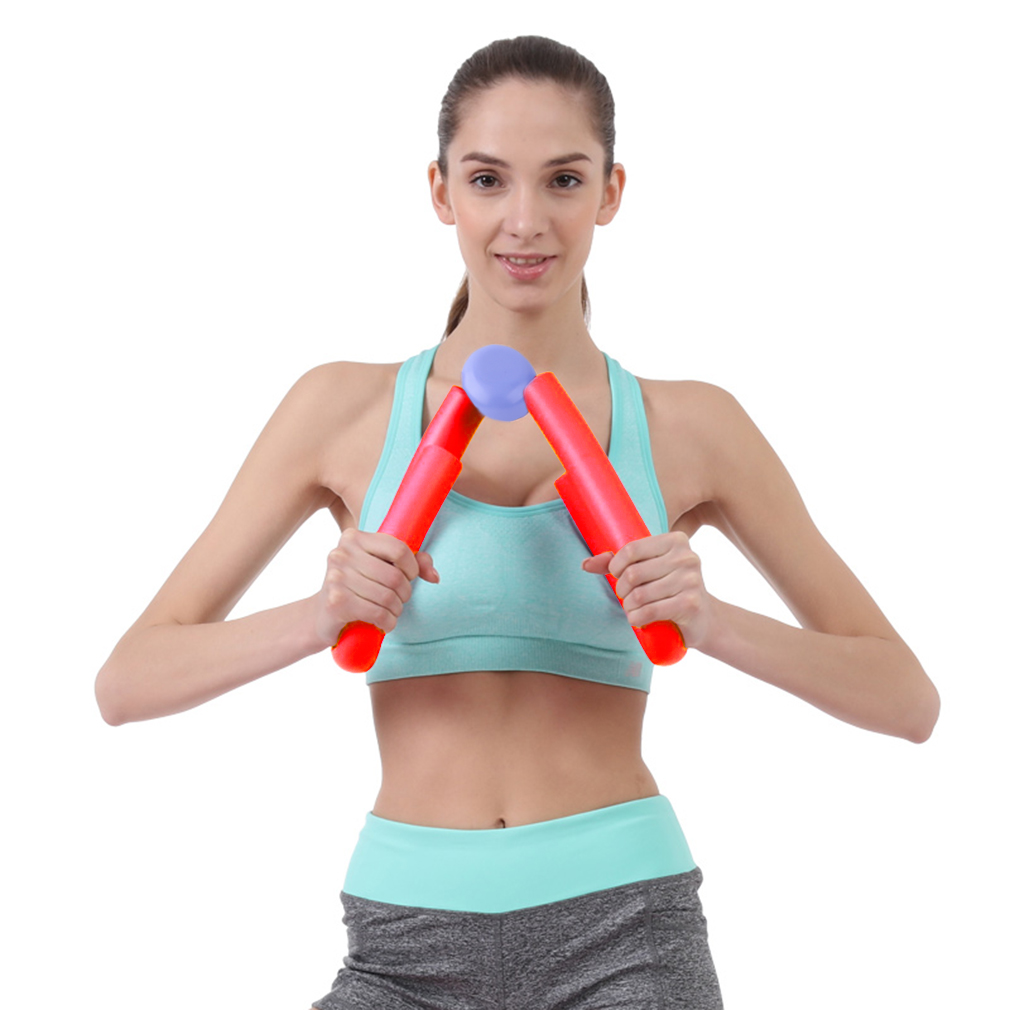 PVC Thigh Exercisers Gym Sports Thigh Master Leg Muscle Arm Chest Waist Exerciser Workout Machine Gym Home Fitness Equipment image