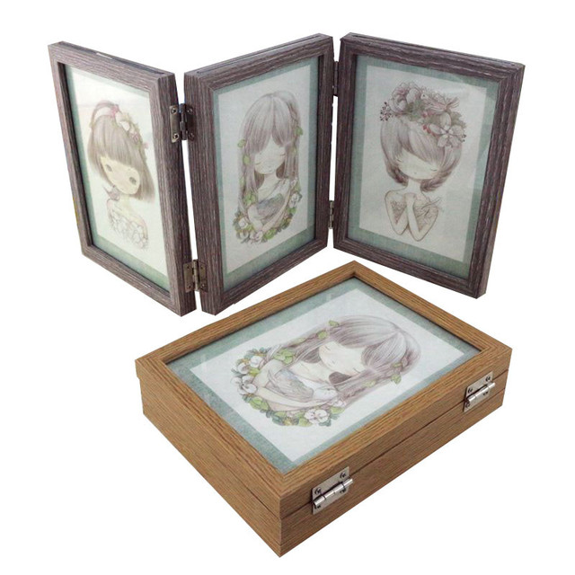 Aliexpress.com : Buy Desktop Decor Wooden Picture Frame Wall Photo ...