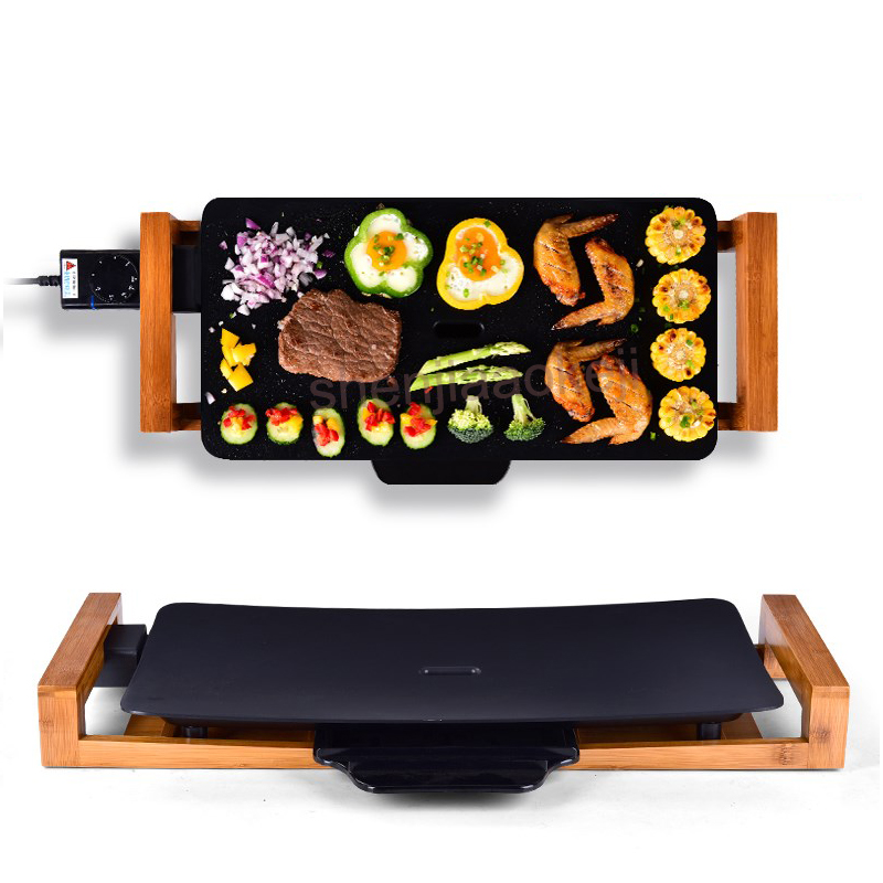 electric barbecue Grill non smoking electric baking pan