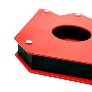 Image 4 - 2 pcs רב זווית ריתוך מגנט Neodymium מגנטי מהדק חשמלי ריתוך ברזל יניקה מחזיק כלים S 12 kg
