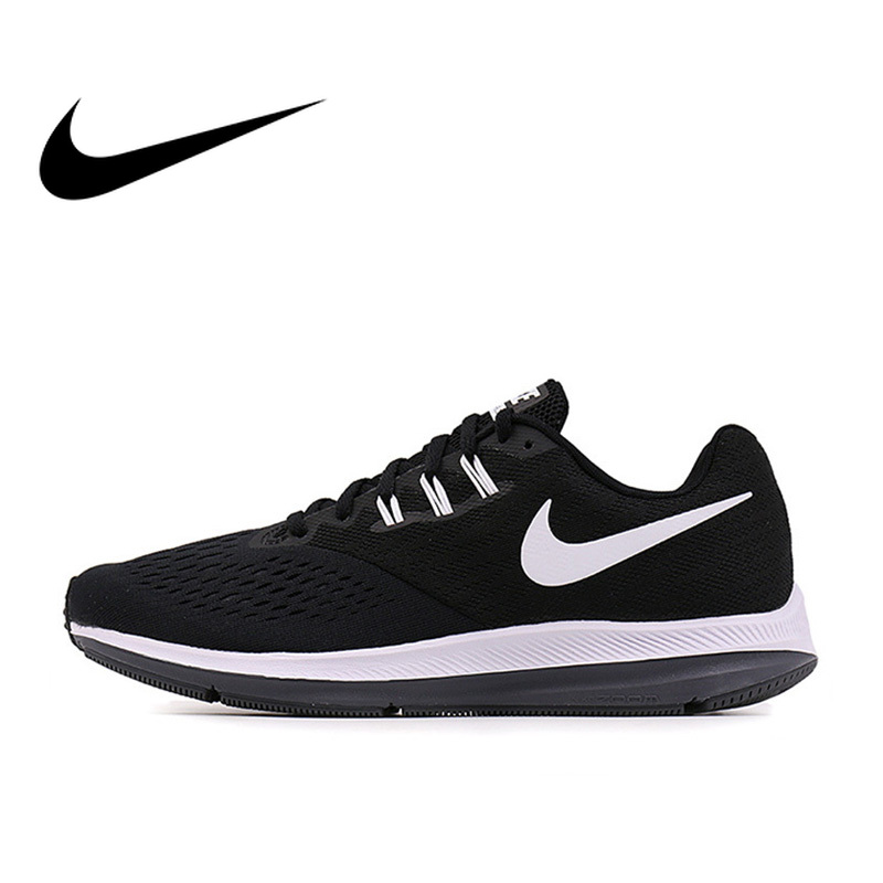 Original Authentic Nike Zoom Winflo 4 Mens Breathable Running Shoes Sports Sneakers Outdoor Walking Jogging Sneaker DurableOriginal Authentic Nike Zoom Winflo 4 Mens Breathable Running Shoes Sports Sneakers Outdoor Walking Jogging Sneaker Durable