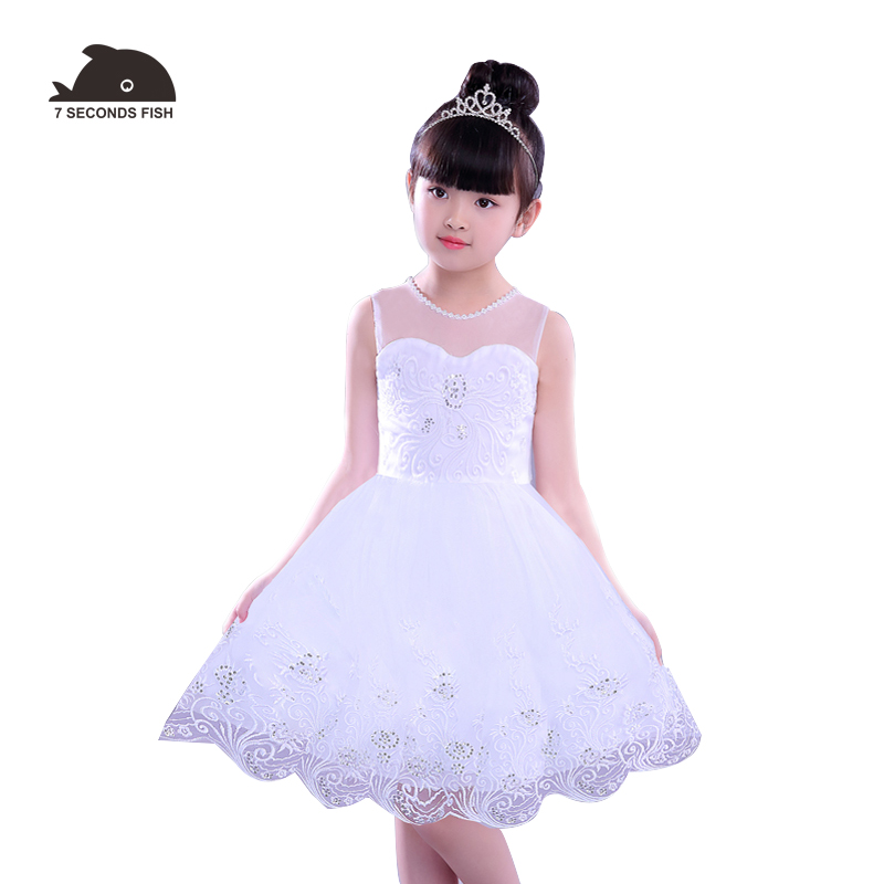 girls dress kids dresses for girls vestidos white princess dress wedding eveving party summer 2018 2018 teenage girls summer casual dress girls cotton dresses kids letter printed beach dress girls slim dresses vestidos cc804