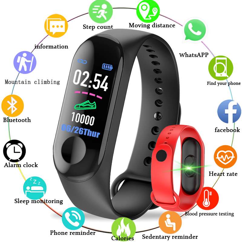 2018 neue BANGWEI IP68 Wasserdichte Sport Smart Uhr Männer Frauen Sport Schrittzähler Blutdruck Sauerstoff Überwachung smartwatch + Box