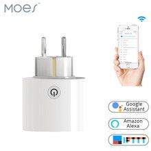 Wi-Fi Smart Power Socket Plug EU Standard Work With Amazon Alexa and Google Home No Hub Required