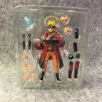 SHF Naruto Uzumaki Variant Immortal SHF PVC Action Figure Figuarts Toy Brinquedos