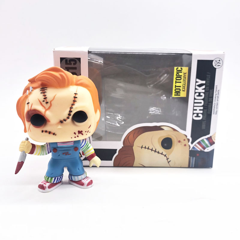 New funko pop in box Horror Movie Childs Play Chucky Character 315 Special Color Vinyl Dolls Collection Figure ToysNew funko pop in box Horror Movie Childs Play Chucky Character 315 Special Color Vinyl Dolls Collection Figure Toys