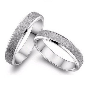 2016 hot sell fashion loverscouple rings925 sterling silver wedding rings jewelry gift - Silver Wedding Rings