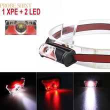 FB 22 Shining Hot Selling Fast Shipping Mini Super Bright Headlight XPE + 2 LED 4 Mode Headlamp Head Torch Lamp
