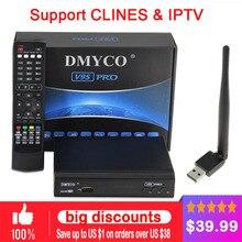 [Genuine]DMYCO V9S pro+ FREESET USB Wifi DVB-S2 Satellite TV Receiver Support PowerVu Bisskey Necamd Youtube Youporn pk V8 super