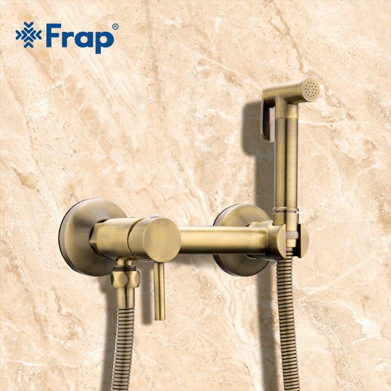 Frap Bidets laiton salle de bains robinet de douche bidet toilette pulvérisateur toilette laveuse mélangeur musulman douche ducha higienica robinet de toilette