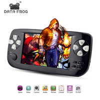Data Frog 2017 New 4 3 Inch HD Game Console 32 Bit Portable Handheld Game Players