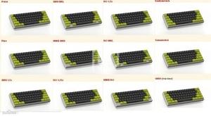 Image 5 - Satan gh60 60% مجموعة لوحة المفاتيح الميكانيكية المخصصة حتى tp 64 مفاتيح تدعم TKG TOOLS PCB GH60 60% مبرمجة gh60 kle
