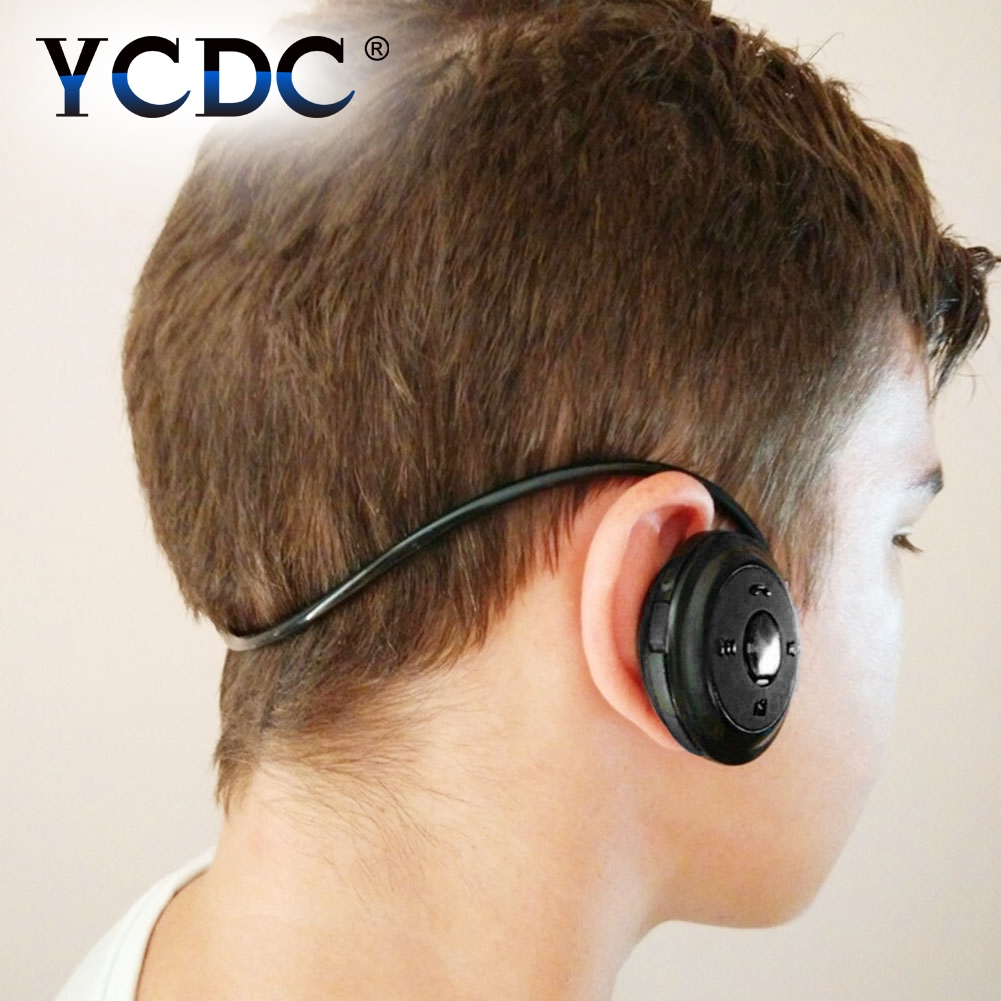 YCDC New Mini 503 Neckband Sport Wireless Bluetooth Handsfree Stereo Headset Headphone Earphone for Mp3 Player wireless bluetooth headset hbs500 sport portable 3d stereo headphone v4 1 bluetooth headphone neckband style for all phones