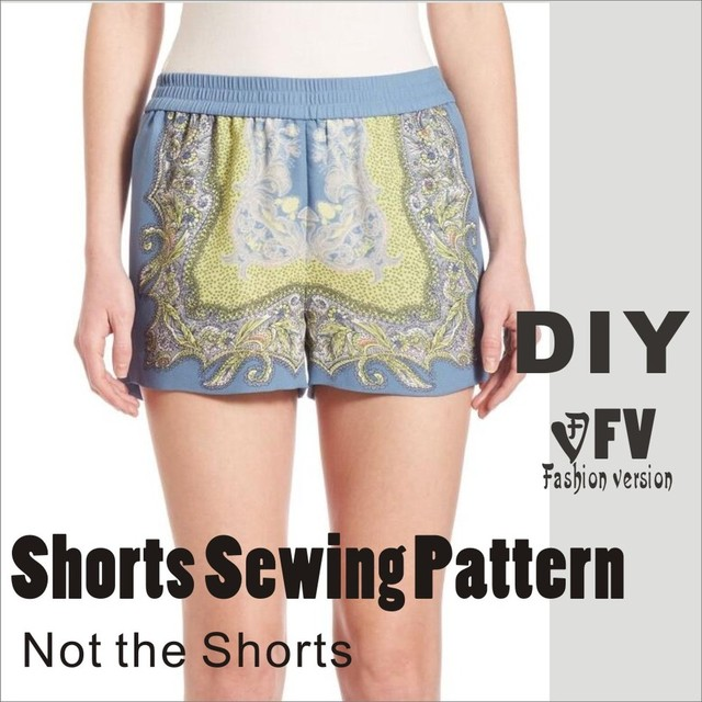 Pants sewing pattern The trousers pattern(Not the pants) Elastic ...