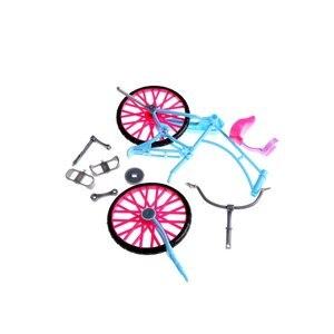 1PC Bike Für Barbie Spielzeug Zubehör Freizeit Park Fahrrad Puppe Zubehör Mode