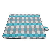 1pcs 200*200cm Single velvet camping mat for outdoor picnic beach crawl foldable Moistureproof mat