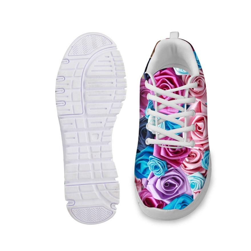 Noisydesigns Fleur up Zapatos Dentelle hz0015aq Deportivas Appartements Femmes Hz0011aq hz0013aq hz0014aq hz0012aq Casual Confortable Femelle hz0016aq Mujer Respirant Imprimé Chaussures wrrfqx