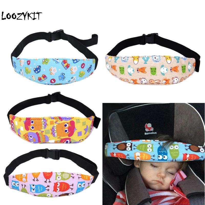 Pudcoco Infant Baby Car Seat Head Support Children Belt Fastening Belt Adjustabl