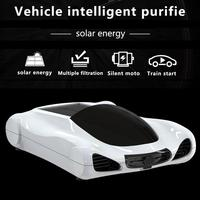 Car Solar Air Purifier WIFI Touch Screen Auto Aroma Diffuser Deep Cleaner Fresher Air Anion Ionic Purifier HEPA PM2.5 Eliminator