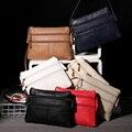 2017 novas mulheres da moda crossbody bolsas de ombro mulher sacos do mensageiro duplo zíper de alta qualidade PU de couro sling bag sac um principal