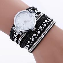woman watch 2019 Fashion Silver Jewelry Bracelet Wrist