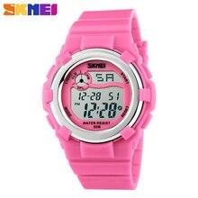 SKMEI 1161 Mode Enfants Automatique Montre Enfants Numérique Étanche Sport Montre-Bracelet De Luxe Militaire Datejust Horloge Top Qualité