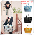 2017 Hot Sale BAO BAO Brand LOGO Women Messenger Bags Geometric Diamond Lattice Folding Laser Designer Handbags High Quality