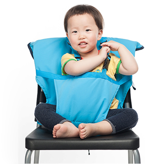 Baby Chair Portable Belt Infant Seat Product Dining Lunch Chair Seat Safety Belt Feeding High Chair Harness Baby chair seat