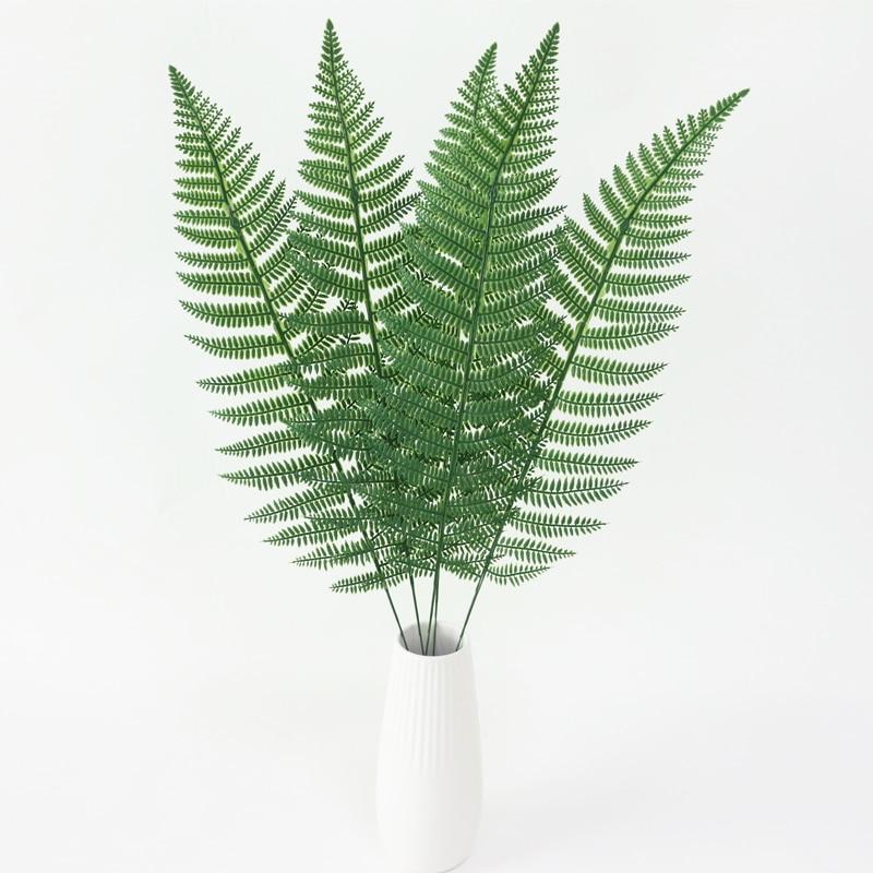 JAROWN Artificial Plants Fern Leaf Nordic Minimalist Style Decor Flower For Wedding Home Flower Arrangement DIY Accessories (10)