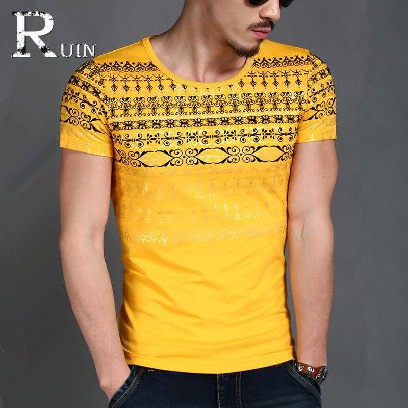 Popular Design Fashion Men S Brand Shirt Short Sleeve Men T Shirt Stylish Slim Fit Mens