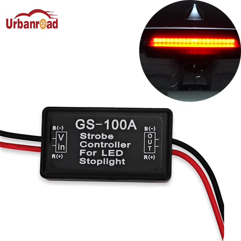 Unbanroad Brake Light Gs-100a Led Flasher Module Strobe Controller Brake Light Flasher Module For Audi A4 B5 B6 B8 A6 C5 Q5 Q7 6d50a 120elx 50a1200v 6 element darlington with brake unit module