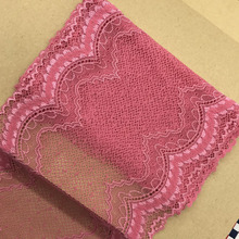 Elastic Lace Fabric diy clothes fabric accessories   Trimmings wedding dress skirt lace  big size lace
